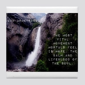 The Most Vital Movement - John Armstrong Tile Coas