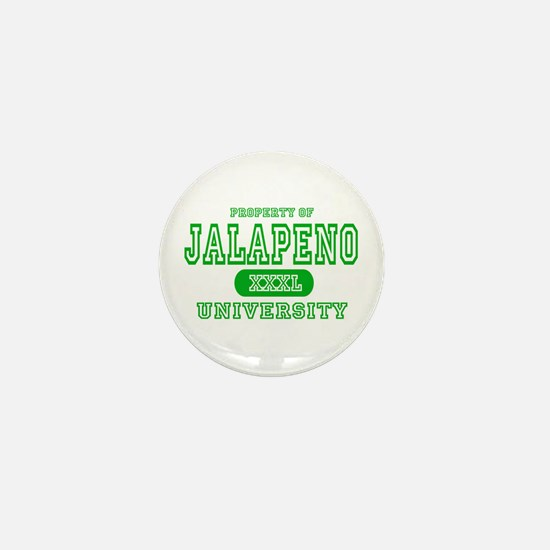 Jalapeno University Pepper Mini Button