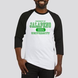 Jalapeno University Pepper Baseball Jersey
