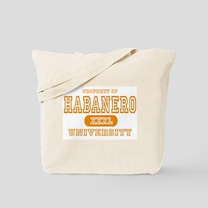 Habanero University Pepper Tote Bag