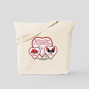 Valentine Pets Tote Bag
