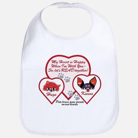 Valentine Pets Bib