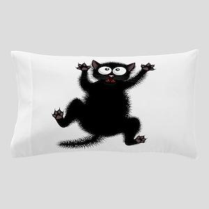 Funny Cat Cool Cartoon Cute Space Cat Pillow Case