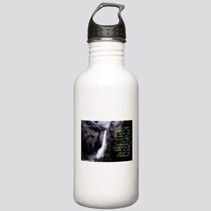 There Then He Sat - Herman Melville Water Bottle