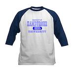 Hamburger University Kids Baseball Jersey