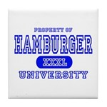Hamburger University Tile Coaster