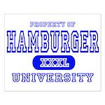 Hamburger University Small Poster