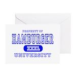 Hamburger University Greeting Cards (Pk of 10)