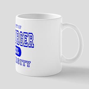 Hamburger University Mug