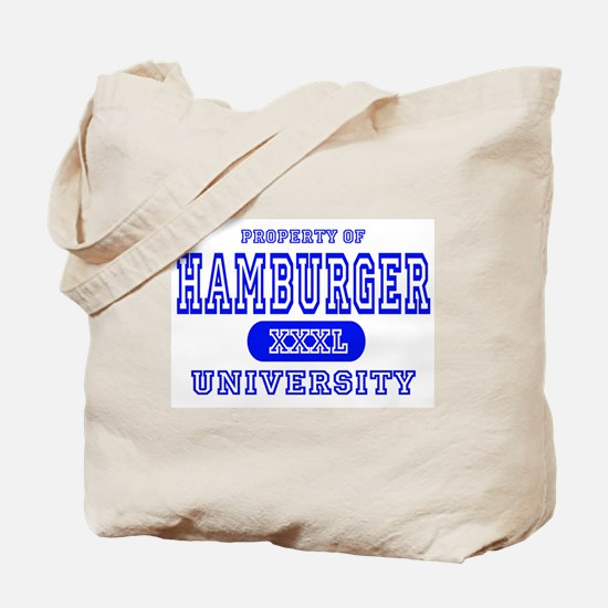 Hamburger University Tote Bag