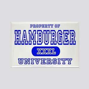 Hamburger University Rectangle Magnet