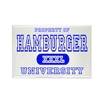 Hamburger University Rectangle Magnet