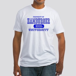 Hamburger University Fitted T-Shirt