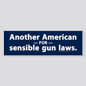 Sensible Gun Laws Bumper Sticker