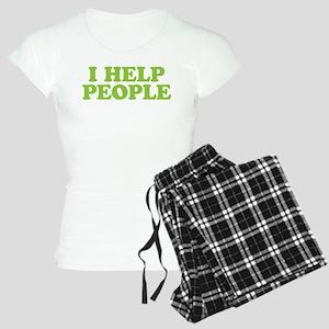 I Help People Women's Light Pajamas
