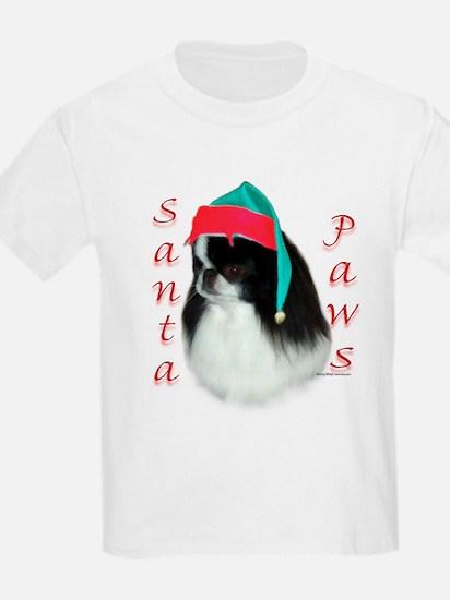 Santa Paws Japanese Chin Kids T-Shirt