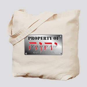 property of YHWH Tote Bag