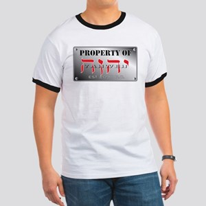 property of YHWH Ringer T