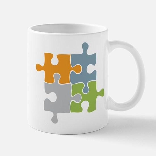 Team Work Puzzle Mug