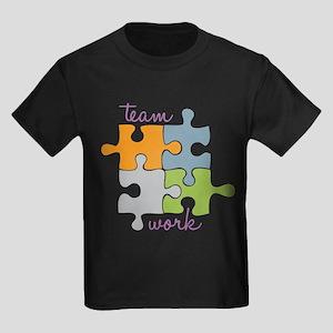 Team Work Kids Dark T-Shirt