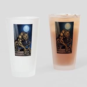 Werewolf Drinking Glass