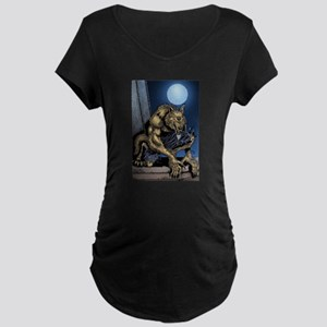 Werewolf Maternity Dark T-Shirt