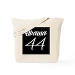 Tattoo white Obama 44 Tote Bag