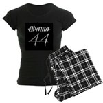 Tattoo white Obama 44 Women's Dark Pajamas