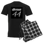 Tattoo white Obama 44 Men's Dark Pajamas