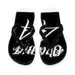 Tattoo white Obama 44 Flip Flops