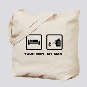 Fire Fighting Tote Bag