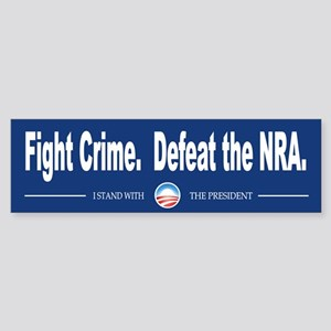 Fight Crime Sticker (Bumper)