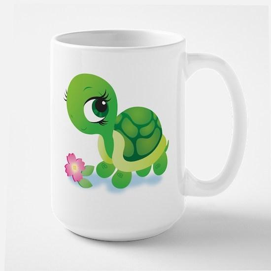 Toshi the Turtle Large Mug