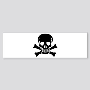 skull 01 Sticker (Bumper)