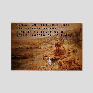The Onward March - Victor Hugo Magnets