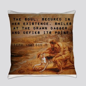 The Soul Secured - Joseph Addison Everyday Pillow
