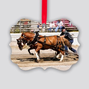 Welsh Pony (Sect. C) Picture Ornament