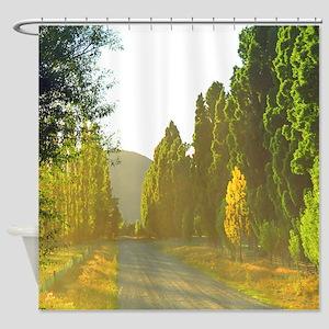 Morning LIght Wanaka NZ Shower Curtain