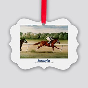 Secretariat Picture Ornament