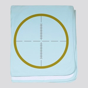 Army Scope baby blanket