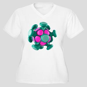 Virus particle, conceptual image - Women's Plus Si