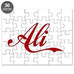 Ali name Puzzle
