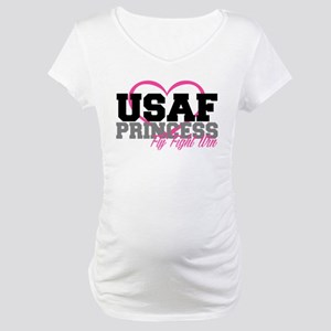 USAF PRINCESS Maternity T-Shirt