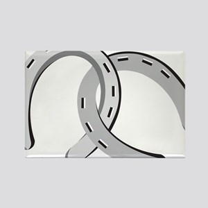 Horseshoes Rectangle Magnet