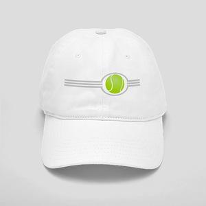 Three Stripes Tennis Ball Cap