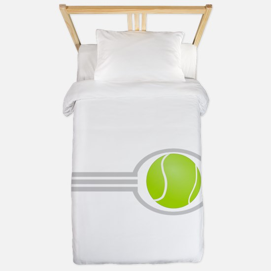 Three Stripes Tennis Ball Twin Duvet