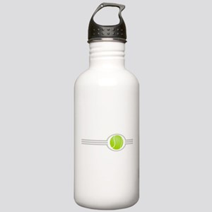 Three Stripes Tennis Ball Stainless Water Bottle 1