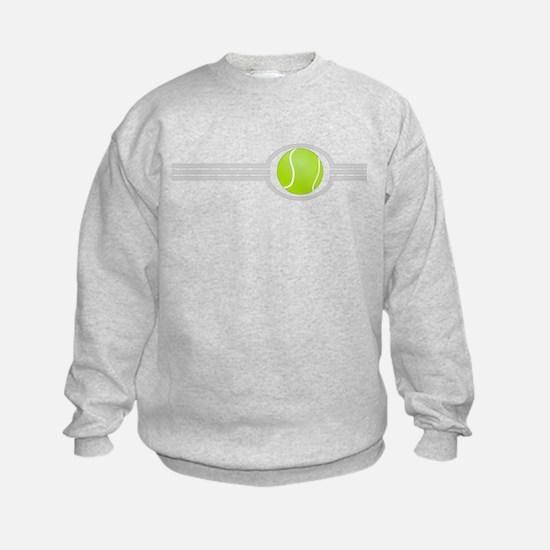 Three Stripes Tennis Ball Sweatshirt