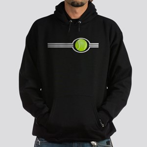Three Stripes Tennis Ball Hoodie (dark)