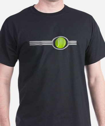 Three Stripes Tennis Ball T-Shirt
